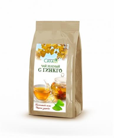 Зелёный чай с гинкго