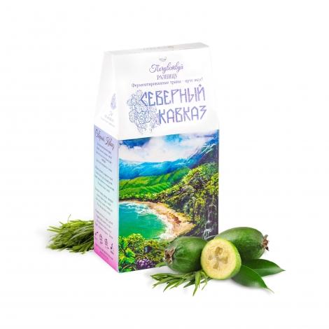 Классический чай с чёрным орехом и травами «Северный Кавказ»