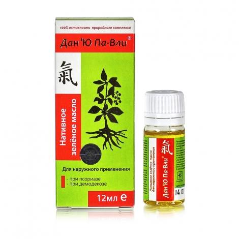 Нативное зелёное масло Дан 'Ю Па-Вли