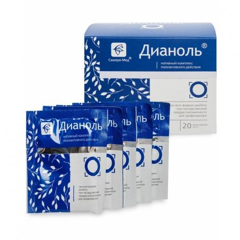 Дианоль (саше при диабете)