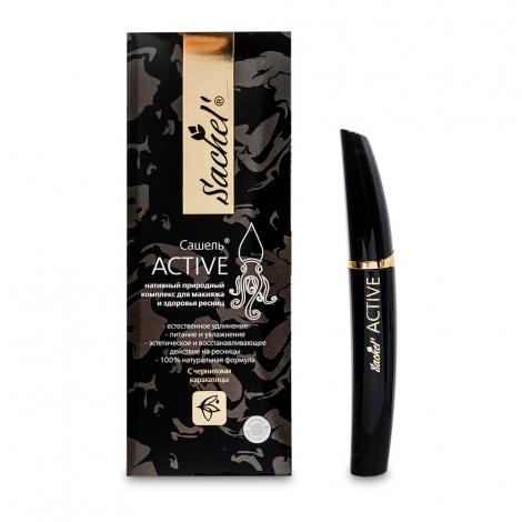 Сашель Active гель для ресниц с чернилами каракатицы